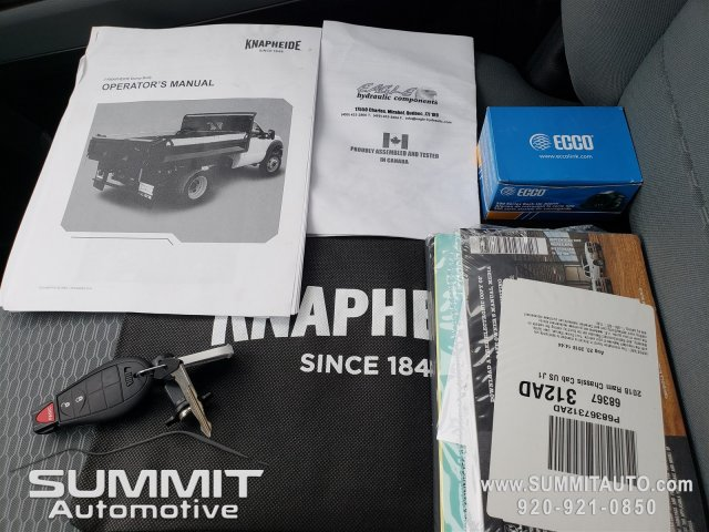 2018 Ram 3500 Regular Cab DRW 4x4,  Knapheide Dump Body #8T422 - photo 35