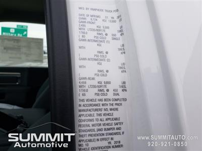 2018 Ram 3500 Regular Cab DRW 4x4,  Knapheide Drop Side Dump Body #8T422 - photo 42