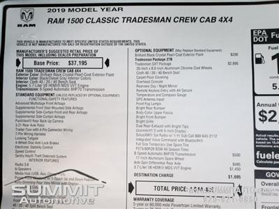 2019 Ram 1500 Crew Cab 4x4,  Pickup #9T131 - photo 34