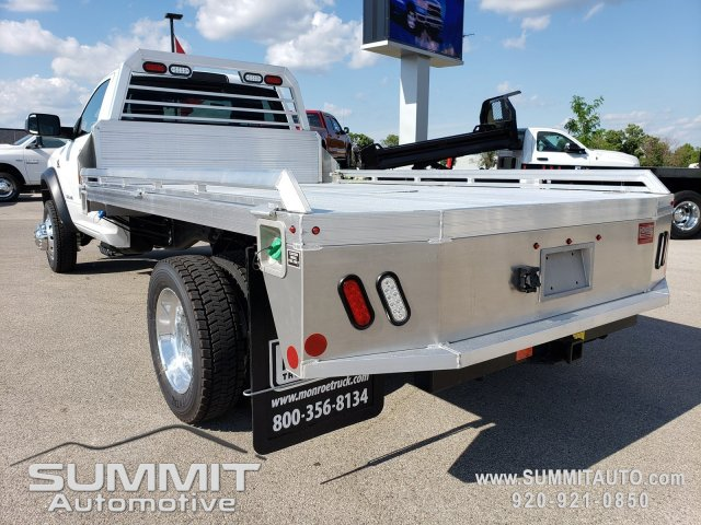 2019 Ram 5500 Regular Cab DRW 4x4,  Monroe Platform Body #9T246 - photo 1