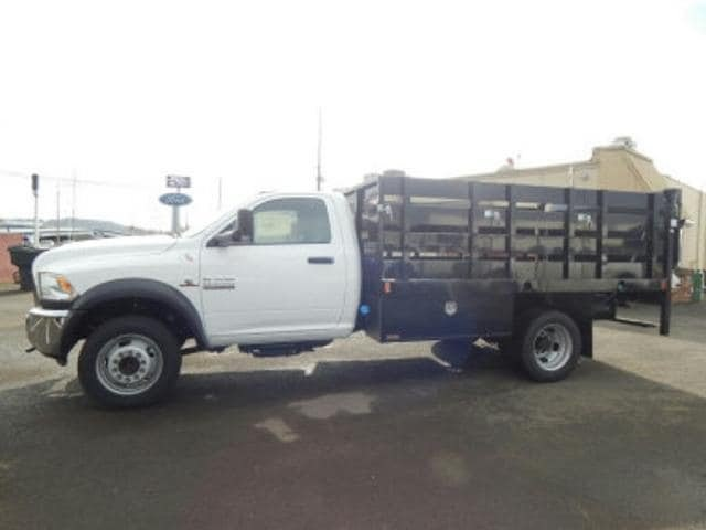 2017 Ram 5500 Regular Cab DRW 4x4,  Harbor Stake Bed #R1319 - photo 3