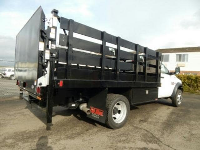2017 Ram 5500 Regular Cab DRW 4x4,  Harbor Stake Bed #R1319 - photo 4