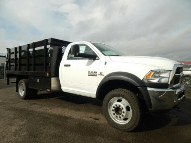 2017 Ram 5500 Regular Cab DRW 4x4,  Harbor Stake Bed #R1319 - photo 6