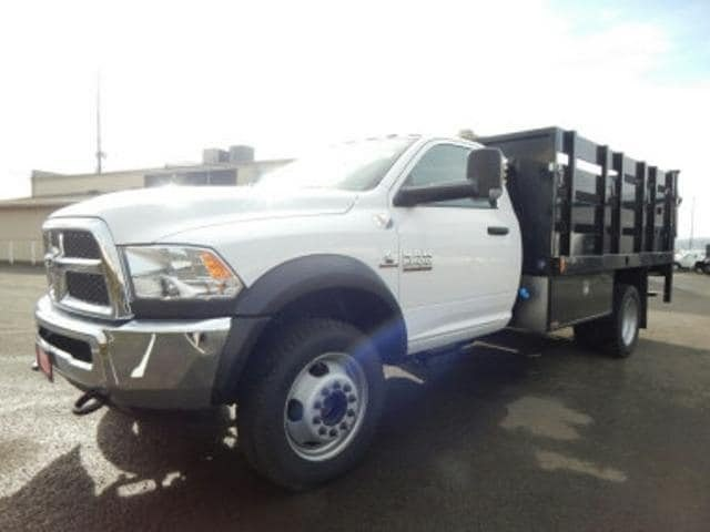 2017 Ram 5500 Regular Cab DRW 4x4,  Harbor Black Boss Stake Bed #R1319 - photo 8