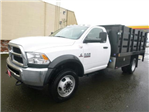 2017 Ram 5500 Regular Cab DRW 4x4, Harbor Stake Bed #R1319 - photo 1