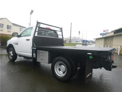 2018 Ram 3500 Regular Cab DRW 4x4, Platform Body #R1322 - photo 2