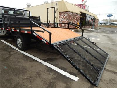 2018 ProMaster 3500 Standard Roof FWD,  RCT Custom Trailers and Welding Inc. Dovetail Landscape #R1365 - photo 19