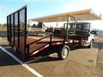 2018 ProMaster 3500 Standard Roof FWD,  RCT Custom Trailers and Welding Inc. Dovetail Landscape #R1365 - photo 1