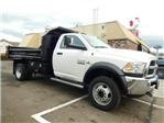 2018 Ram 5500 Regular Cab DRW 4x4, Crysteel Dump Body #R1391 - photo 1