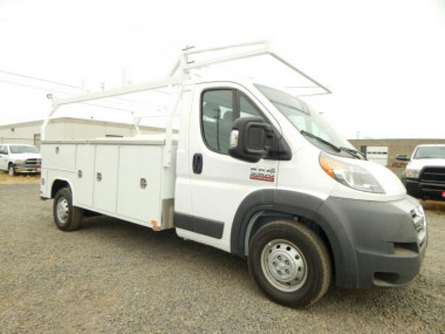2018 ProMaster 3500 Standard Roof FWD,  Harbor TradeMaster Service Body #R1465 - photo 1