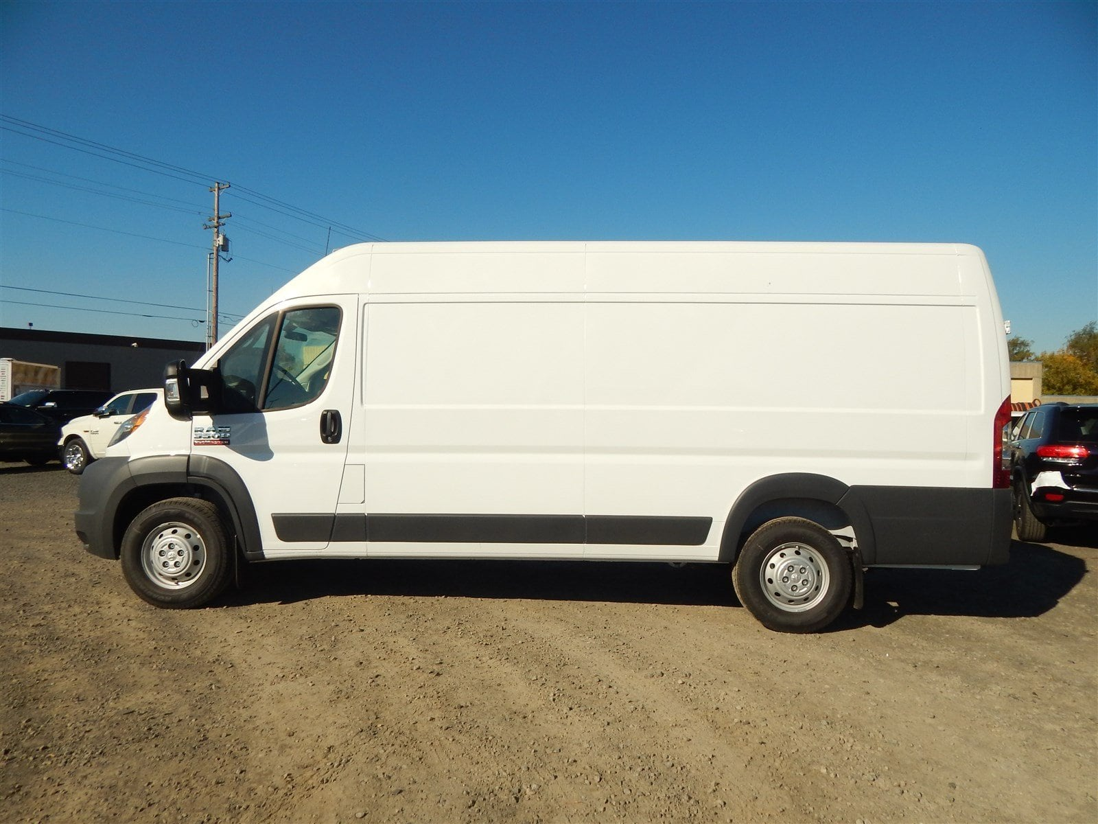 2018 ProMaster 3500 High Roof FWD,  Empty Cargo Van #R1530 - photo 3