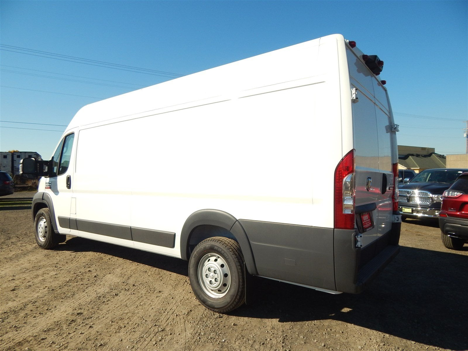 2018 ProMaster 3500 High Roof FWD,  Empty Cargo Van #R1530 - photo 4