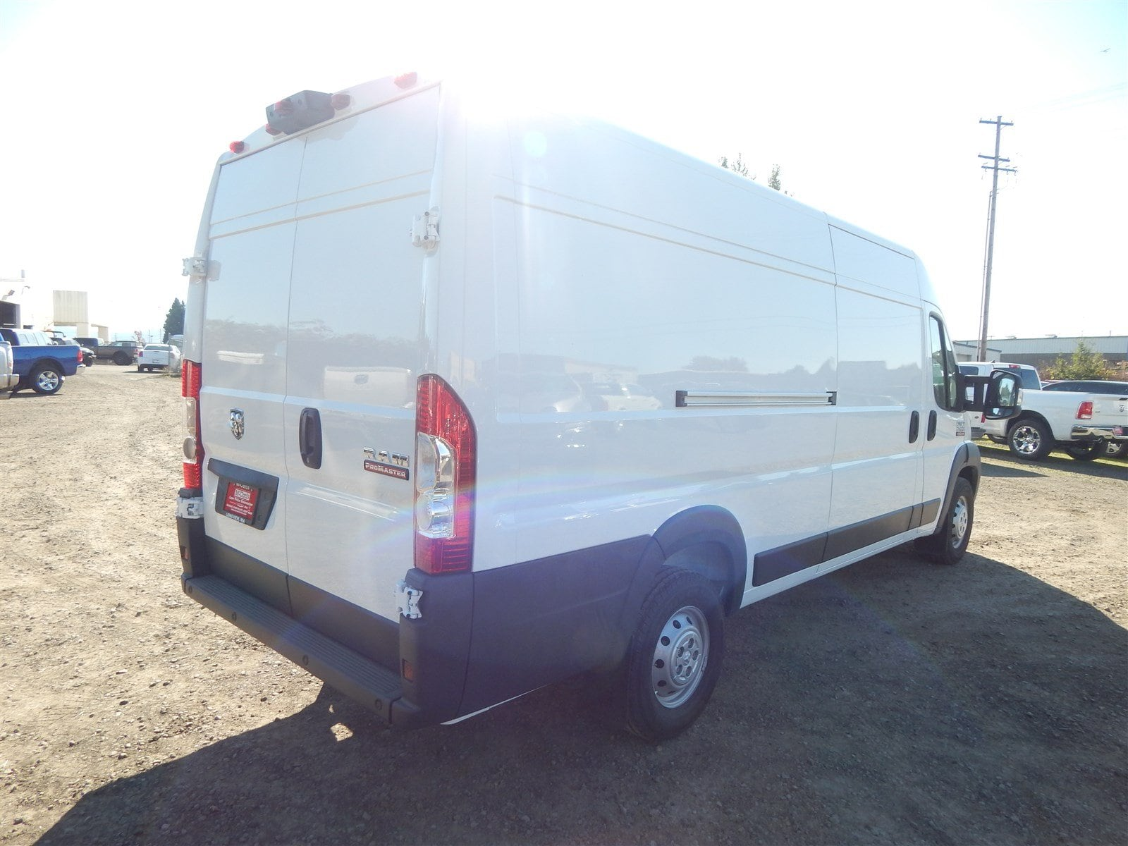 2018 ProMaster 3500 High Roof FWD,  Empty Cargo Van #R1530 - photo 6