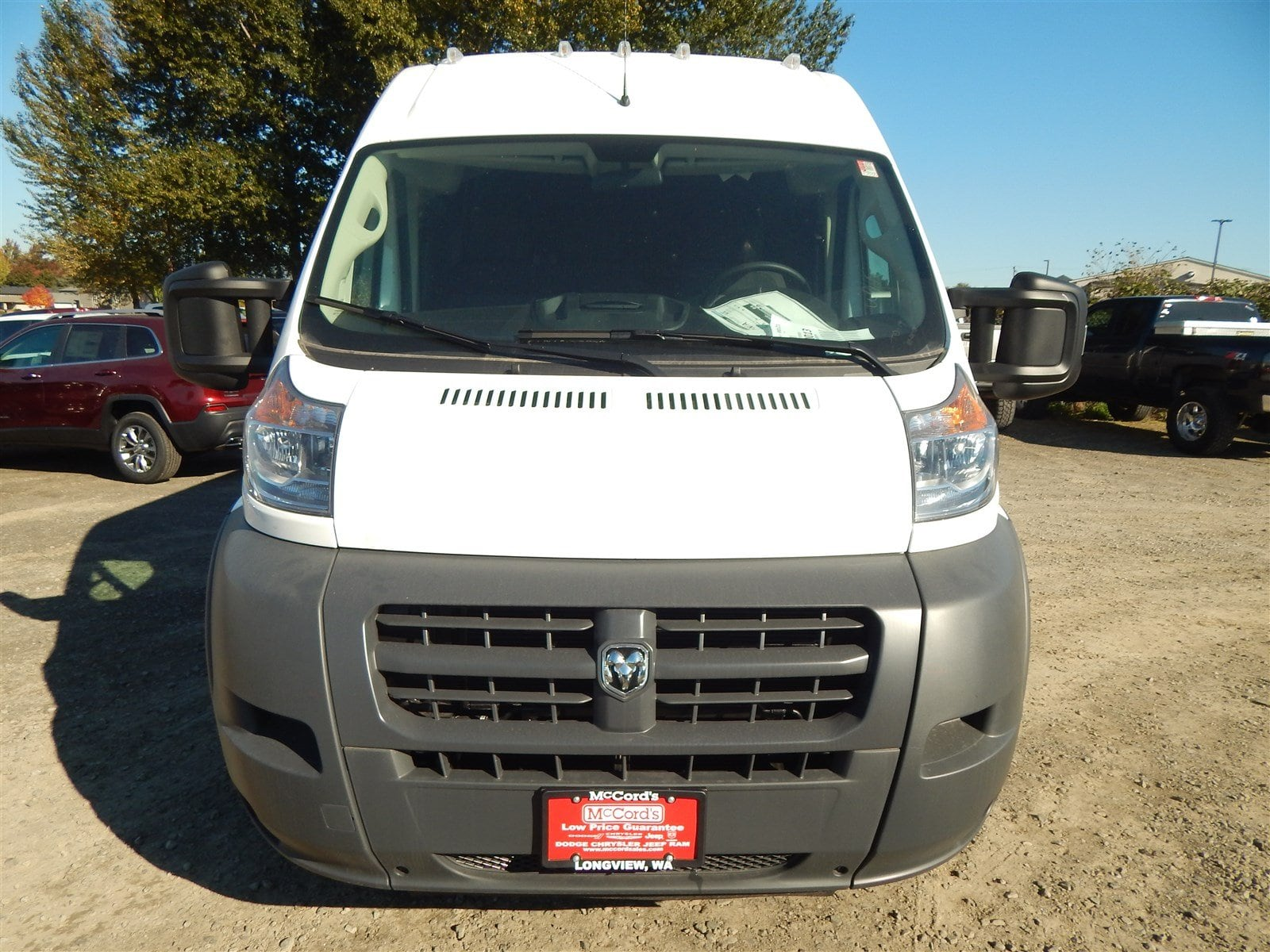 2018 ProMaster 3500 High Roof FWD,  Empty Cargo Van #R1530 - photo 7