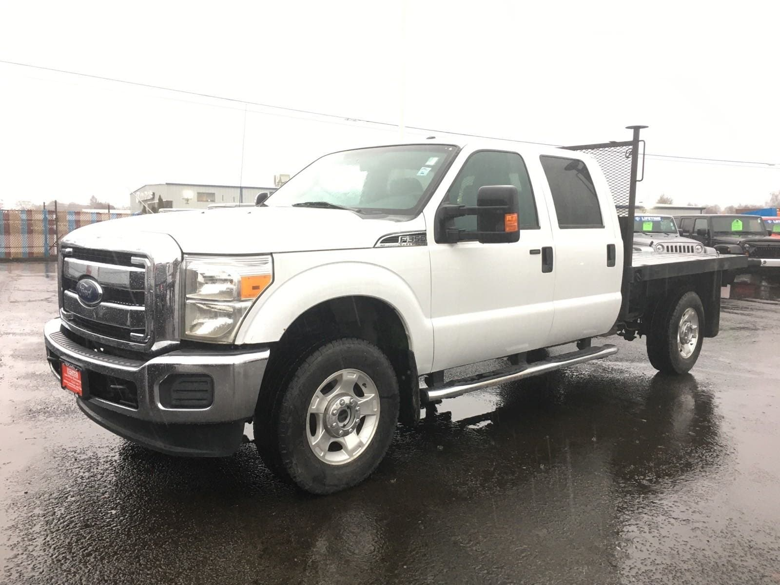2013 Ford F-350 Crew Cab 4x4, Platform Body #R1532A - photo 1