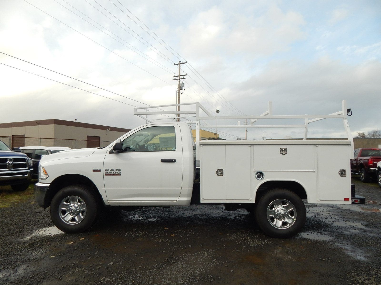 2018 Ram 2500 Regular Cab 4x4,  Harbor Service Body #R1605 - photo 3