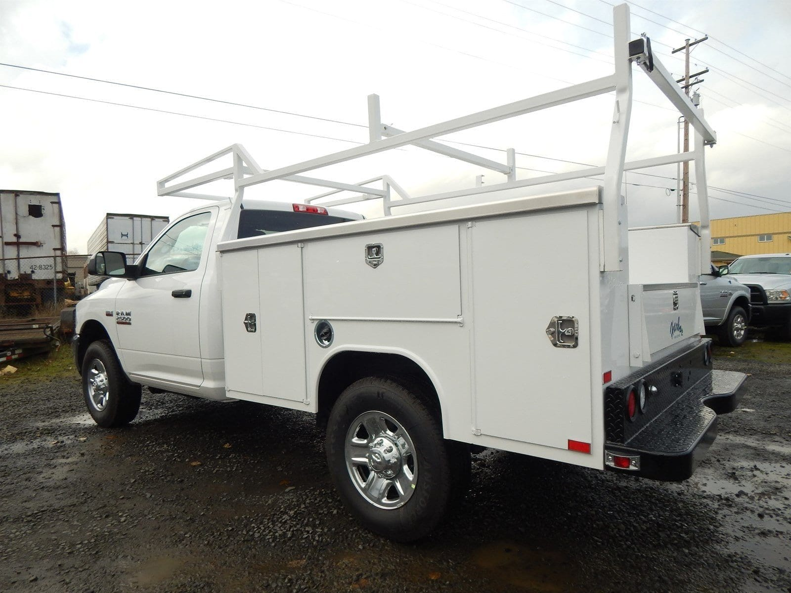 2018 Ram 2500 Regular Cab 4x4,  Harbor Service Body #R1605 - photo 2
