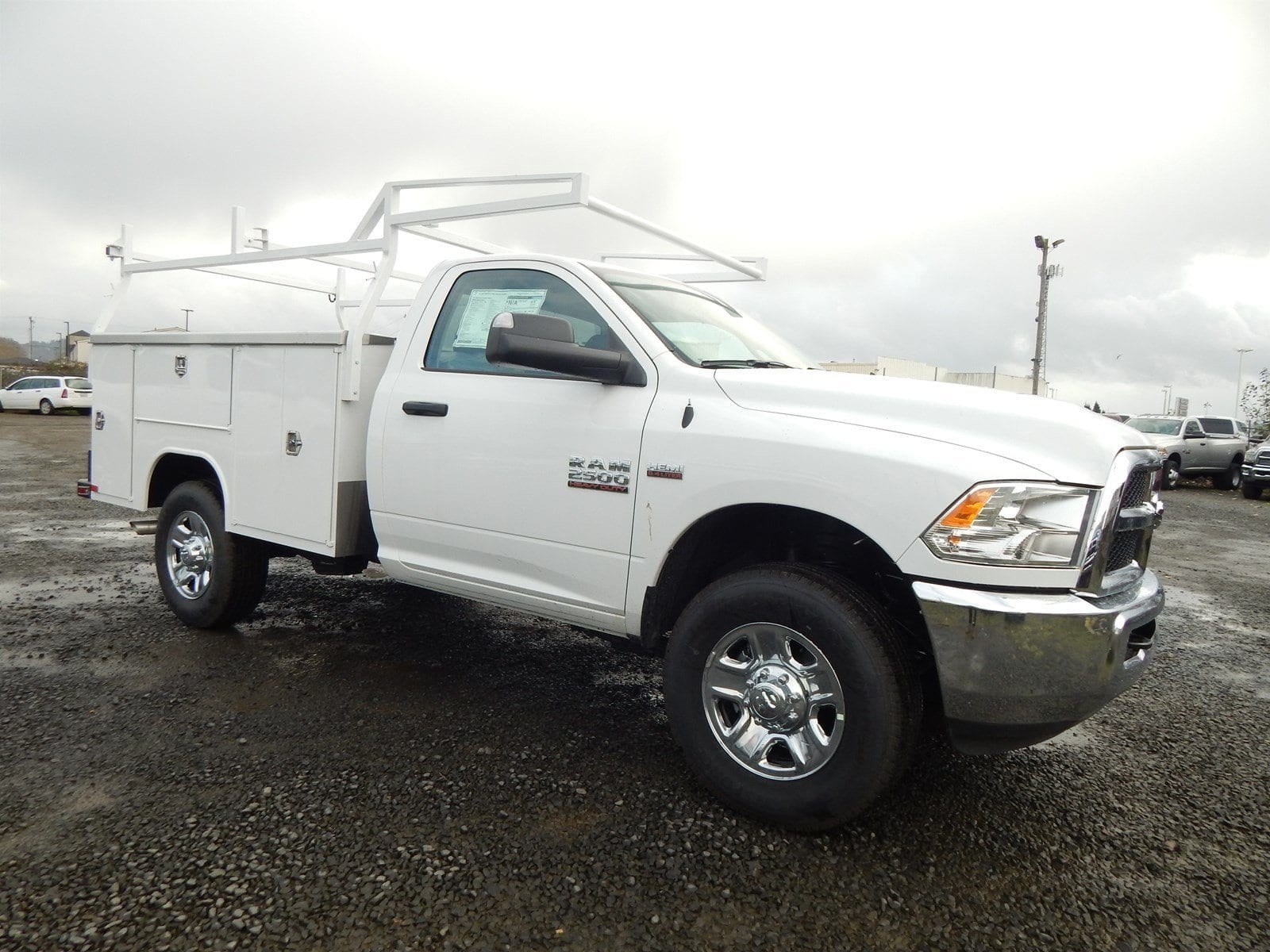 2018 Ram 2500 Regular Cab 4x4,  Harbor Service Body #R1605 - photo 6