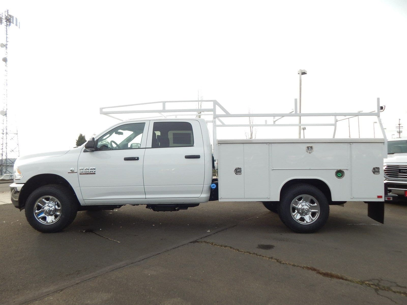 2018 Ram 3500 Crew Cab 4x4,  Harbor Service Body #R1675 - photo 3