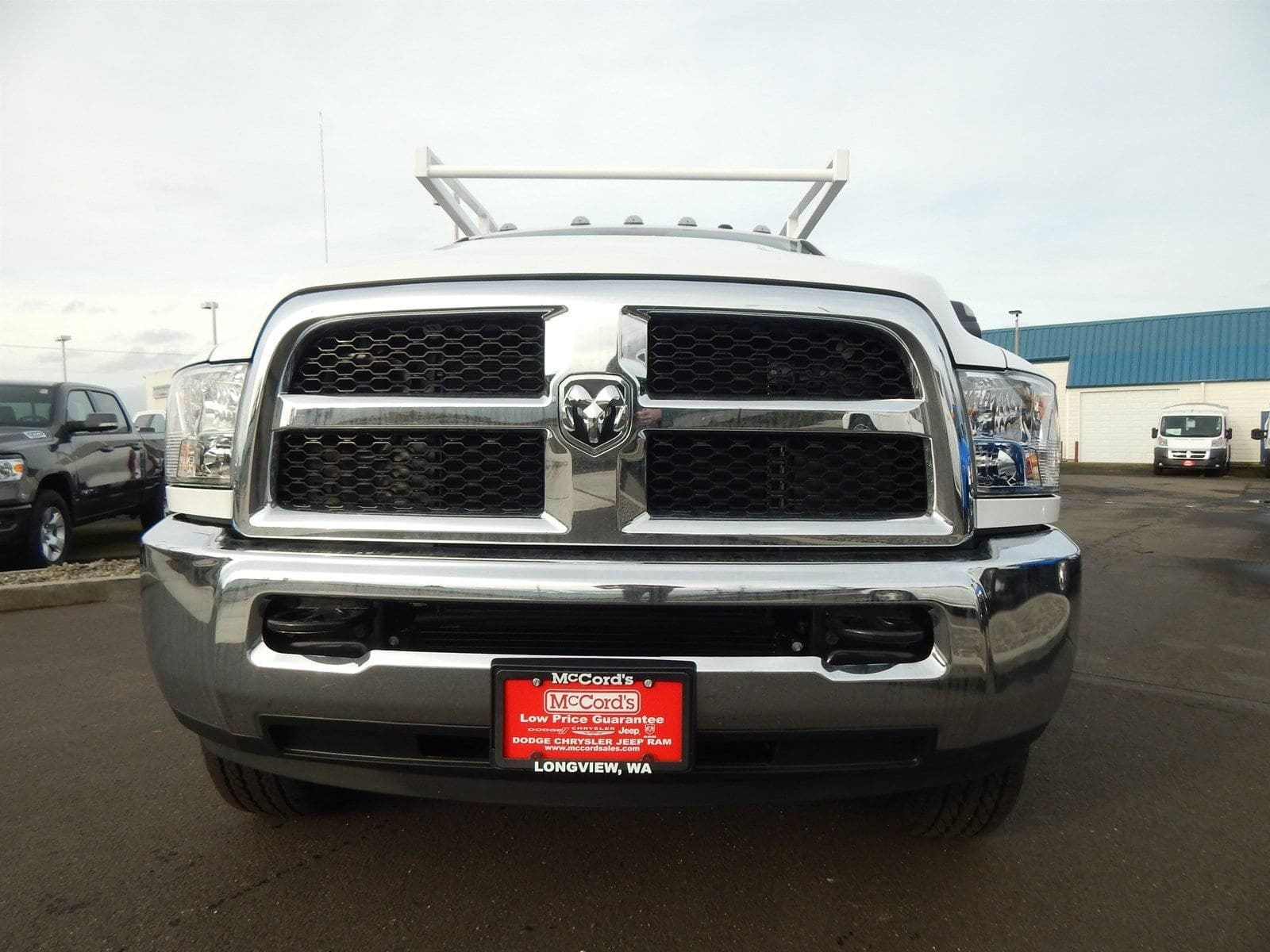 2018 Ram 3500 Crew Cab 4x4,  Harbor Service Body #R1675 - photo 7