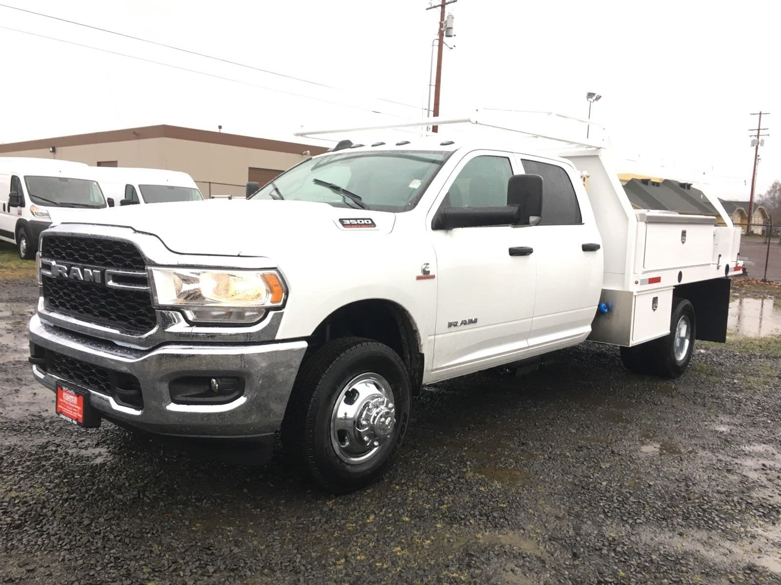2019 Ram 3500 Crew Cab DRW 4x4, Harbor Contractor Body #R1908 - photo 1