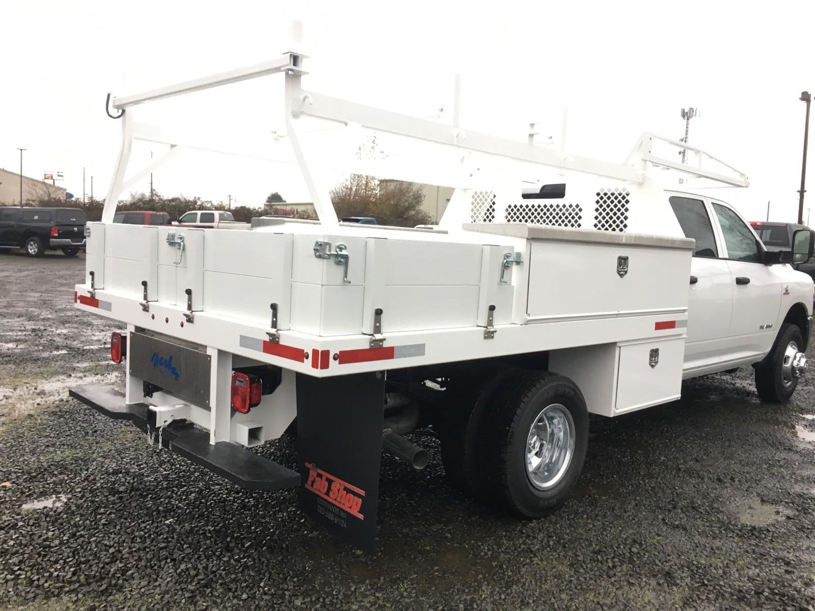 2019 Ram 3500 Crew Cab DRW 4x4, Harbor Standard Contractor Body #R1908 - photo 6