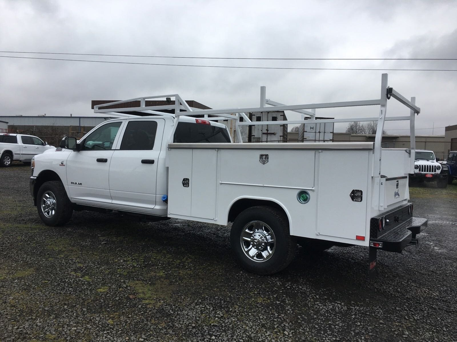 2019 Ram 3500 Crew Cab 4x4, Harbor Service Body #R1958 - photo 1