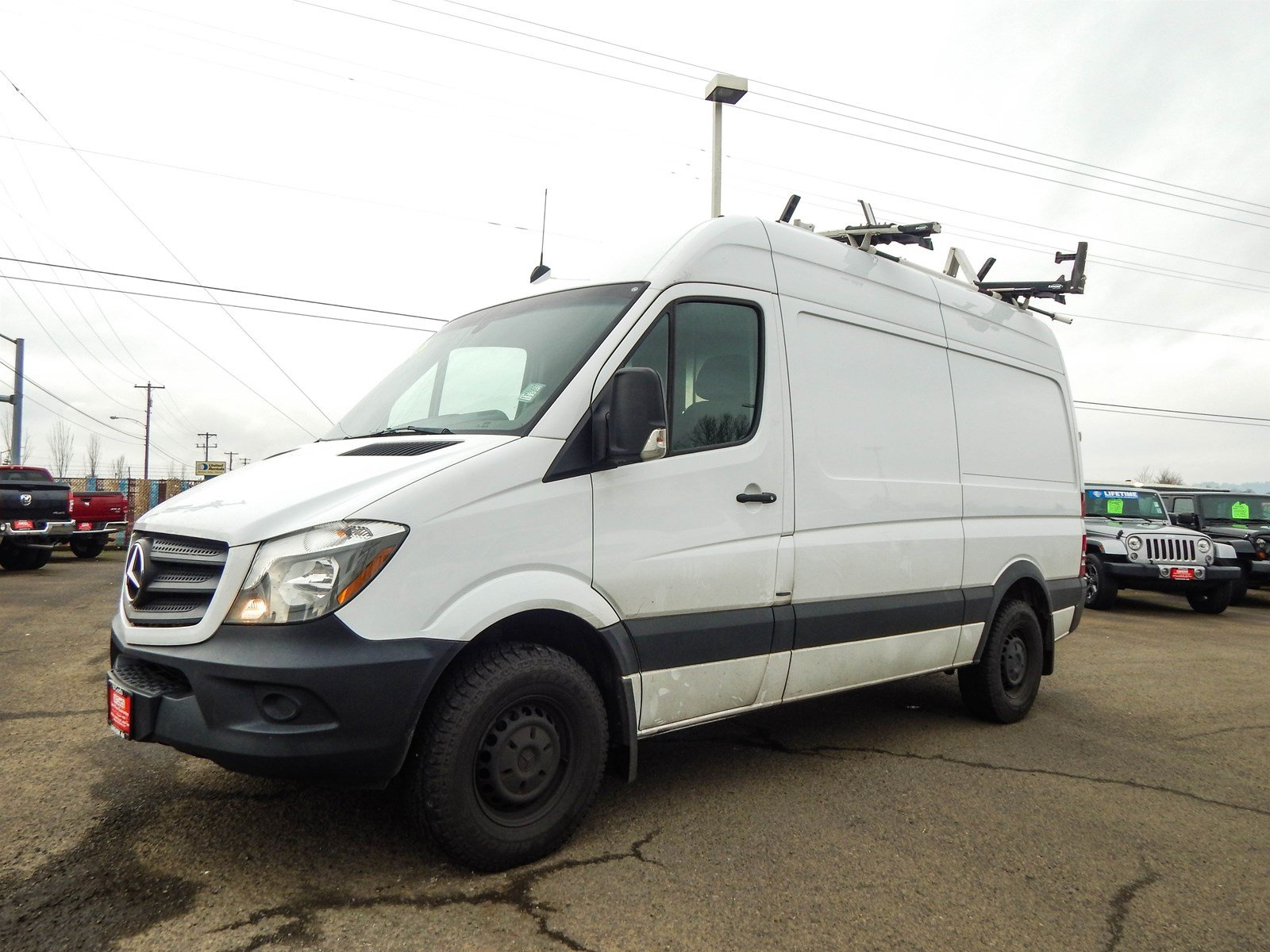 2016 Mercedes-Benz Sprinter 2500 4x2, Empty Cargo Van #R2017A - photo 1