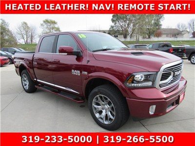 2018 Ram 1500 Crew Cab 4x4,  Pickup #DT20966 - photo 1