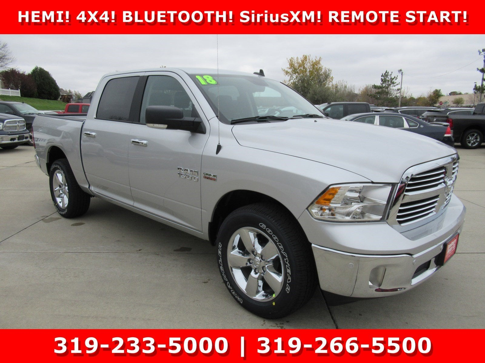 2018 Ram 1500 Crew Cab 4x4, Pickup #DT20973 - photo 1