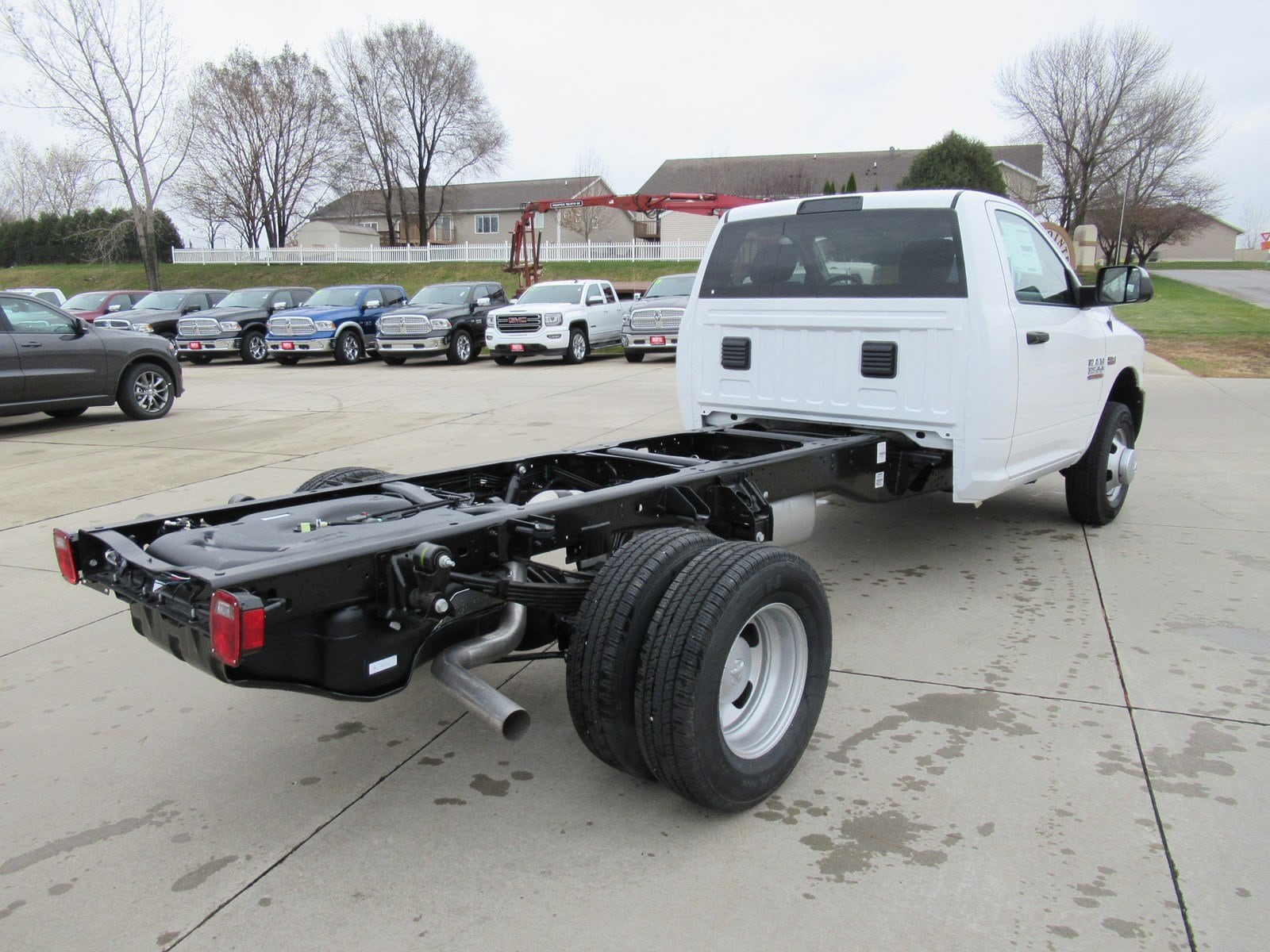 2018 Ram 3500 Regular Cab DRW 4x2,  Cab Chassis #DT21001 - photo 2