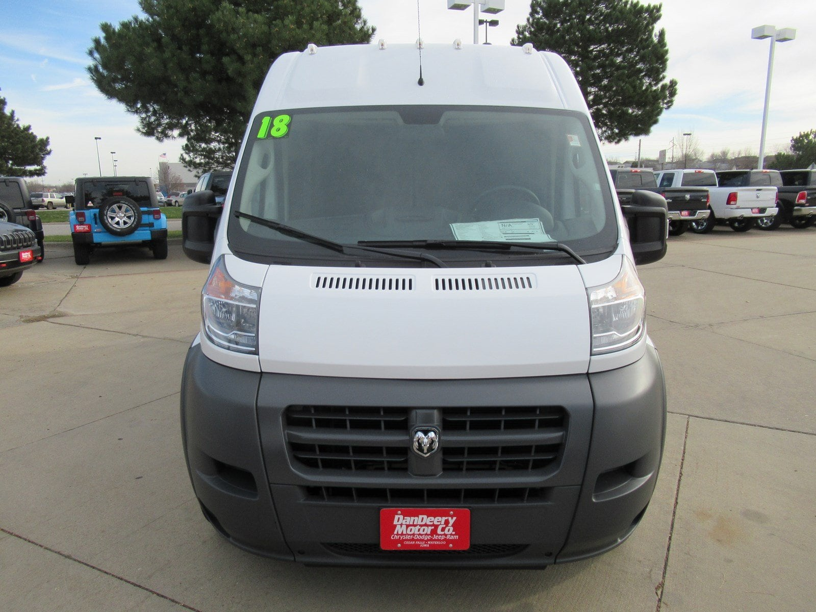 2018 ProMaster 2500 Cargo Van #DT21027 - photo 4