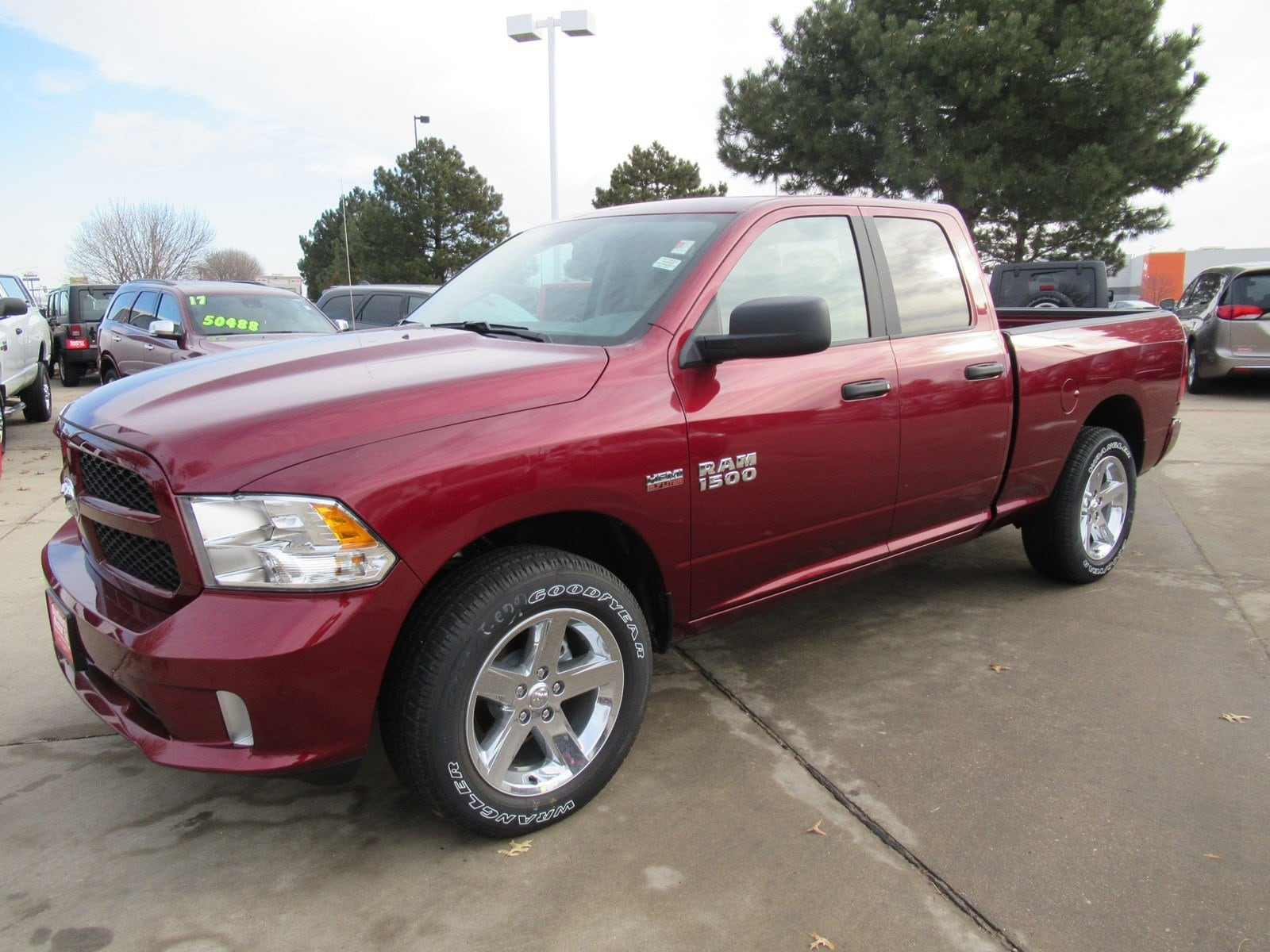 2018 Ram 1500 Quad Cab 4x4, Pickup #DT21039 - photo 4