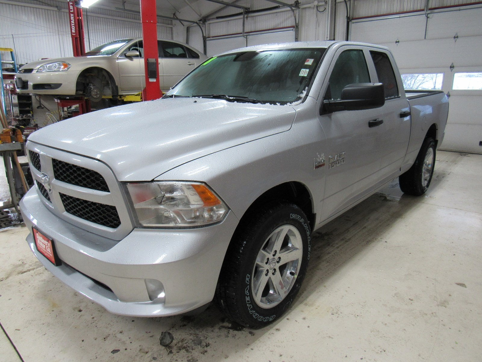 2018 Ram 1500 Quad Cab 4x4,  Pickup #DT21040 - photo 4