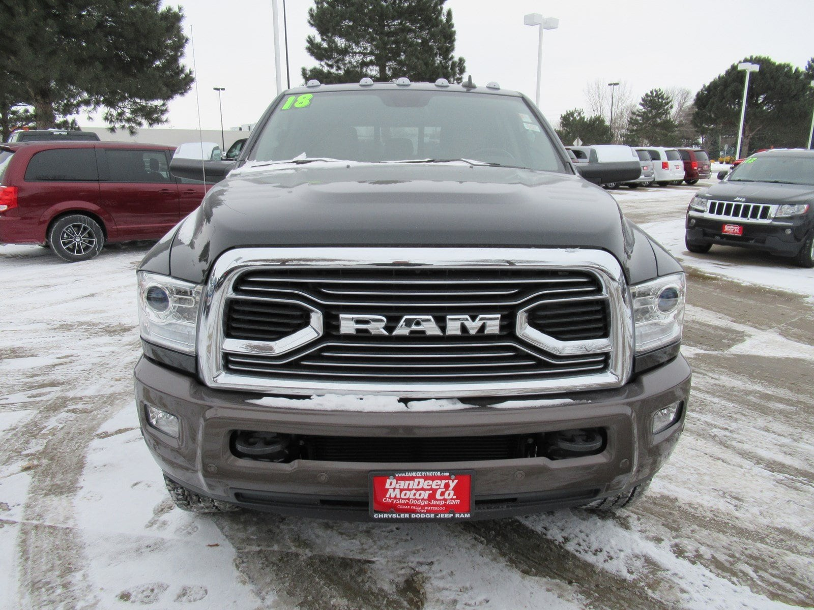 2018 Ram 2500 Mega Cab 4x4 Pickup #DT21061 - photo 3