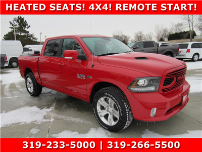 2018 Ram 1500 Crew Cab 4x4, Pickup #DT21129 - photo 1