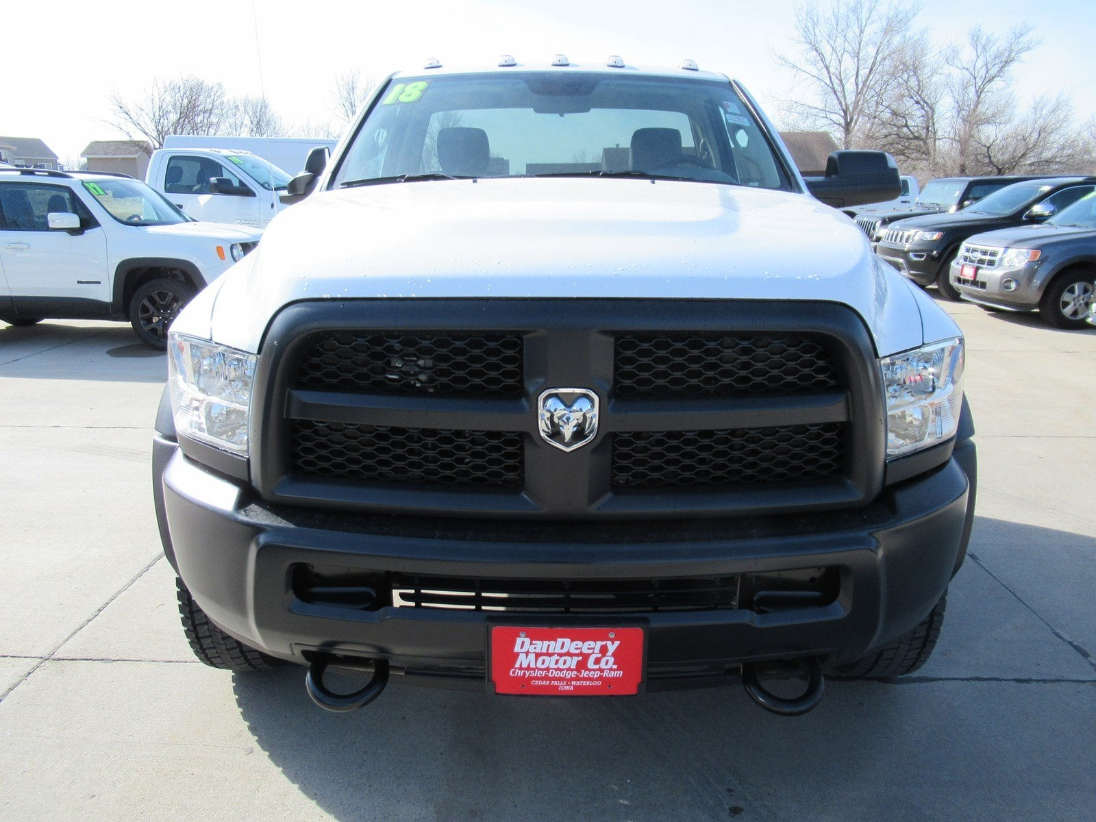 2018 Ram 4500 Regular Cab DRW 4x4,  Cab Chassis #DT21178 - photo 3