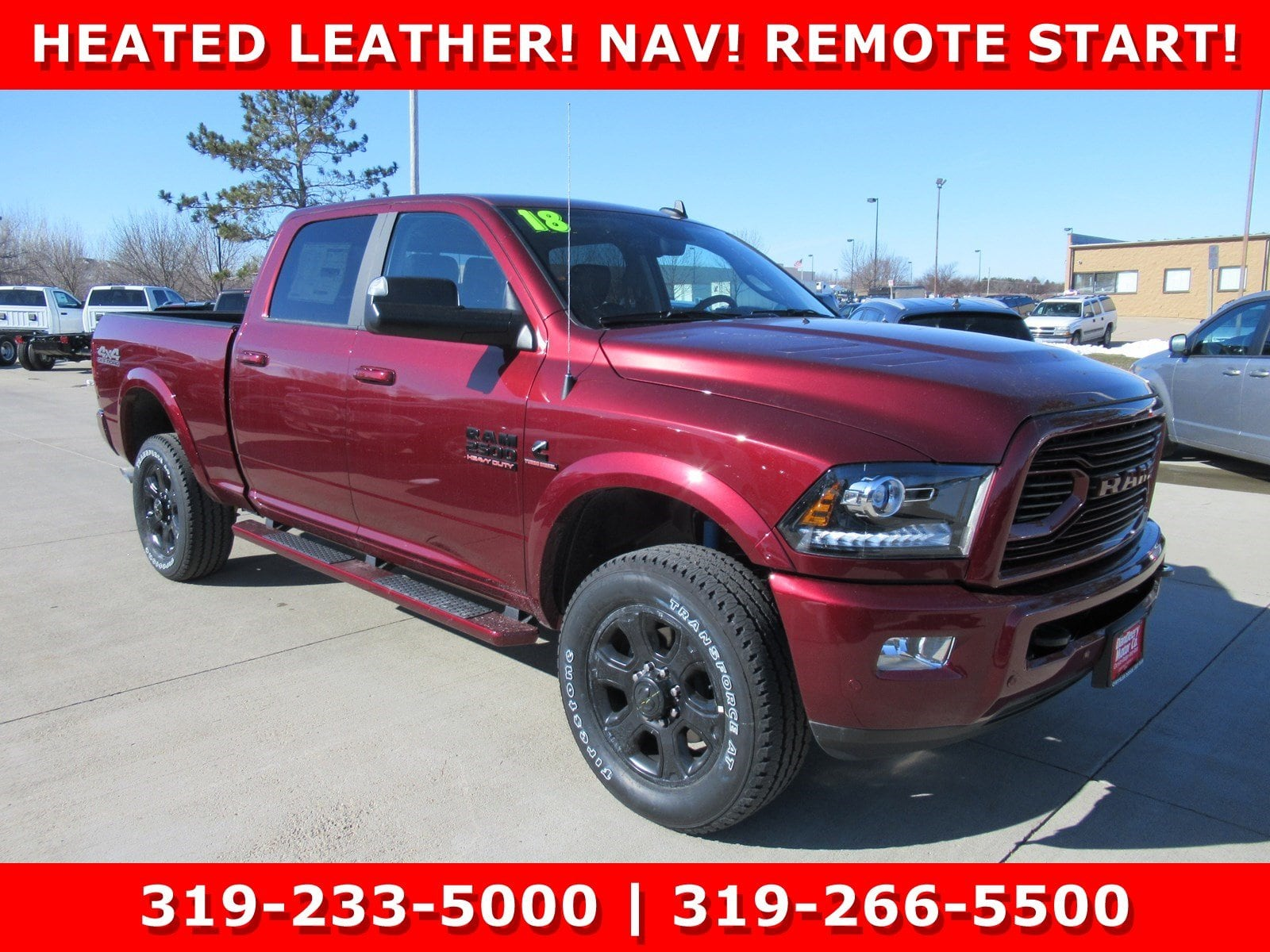 2018 Ram 2500 Crew Cab 4x4,  Pickup #DT21189 - photo 1