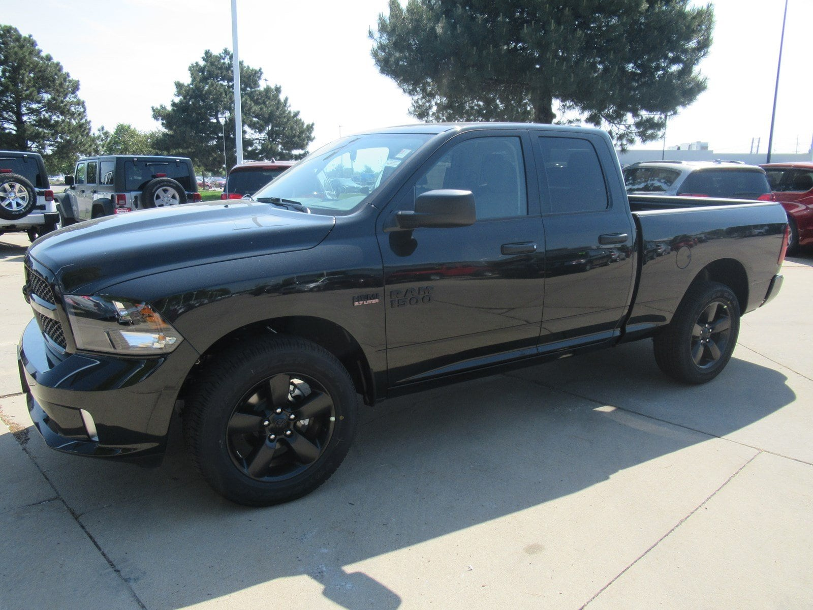 2018 Ram 1500 Quad Cab 4x4,  Pickup #DT21268 - photo 4