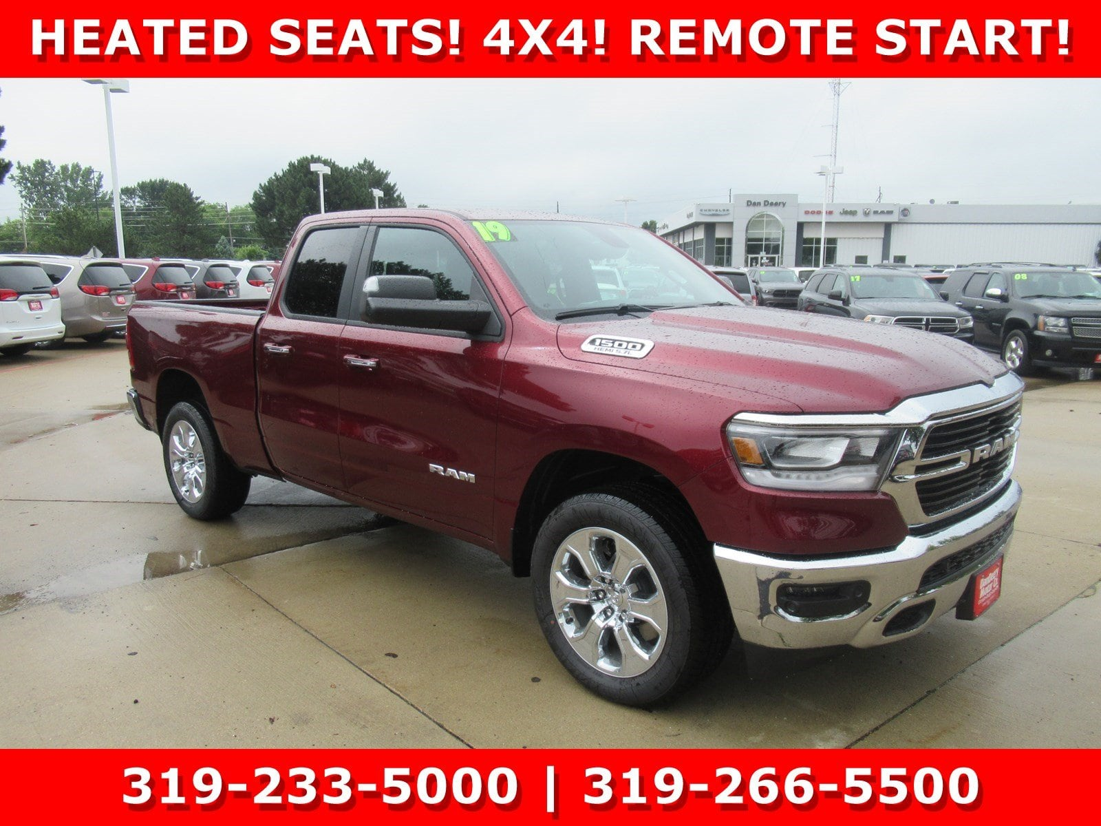 2019 Ram 1500 Quad Cab 4x4,  Pickup #DT21289 - photo 3