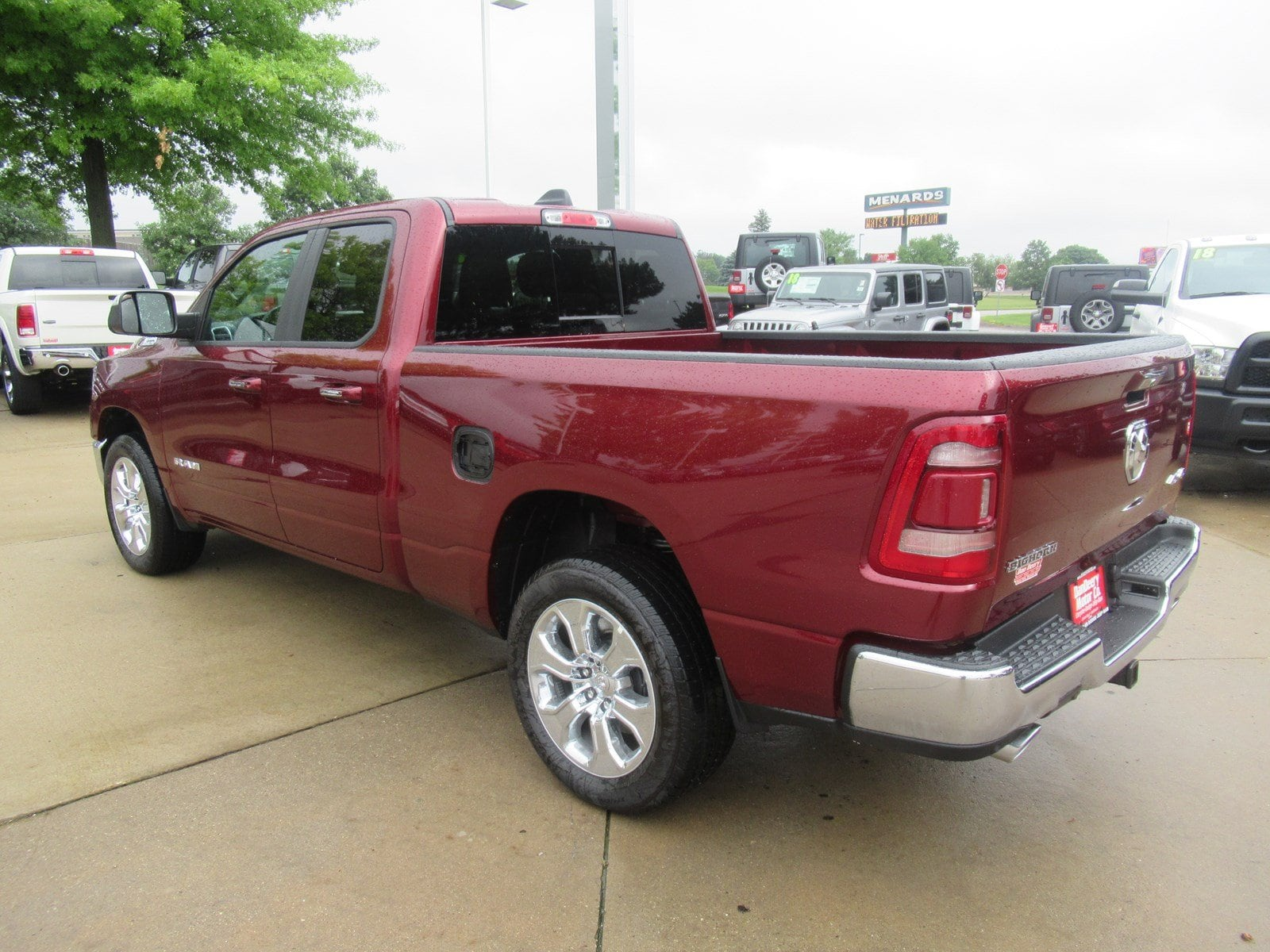 2019 Ram 1500 Quad Cab 4x4,  Pickup #DT21289 - photo 2