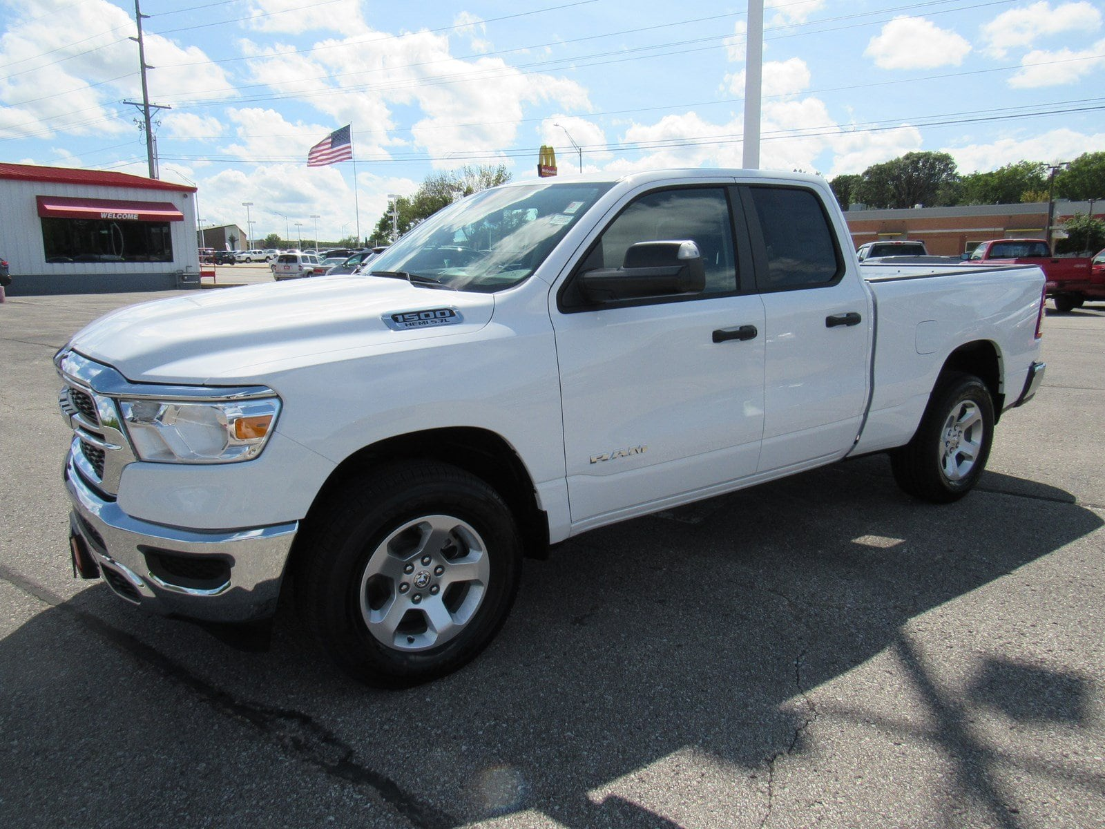 2019 Ram 1500 Quad Cab 4x4,  Pickup #DT21369 - photo 4