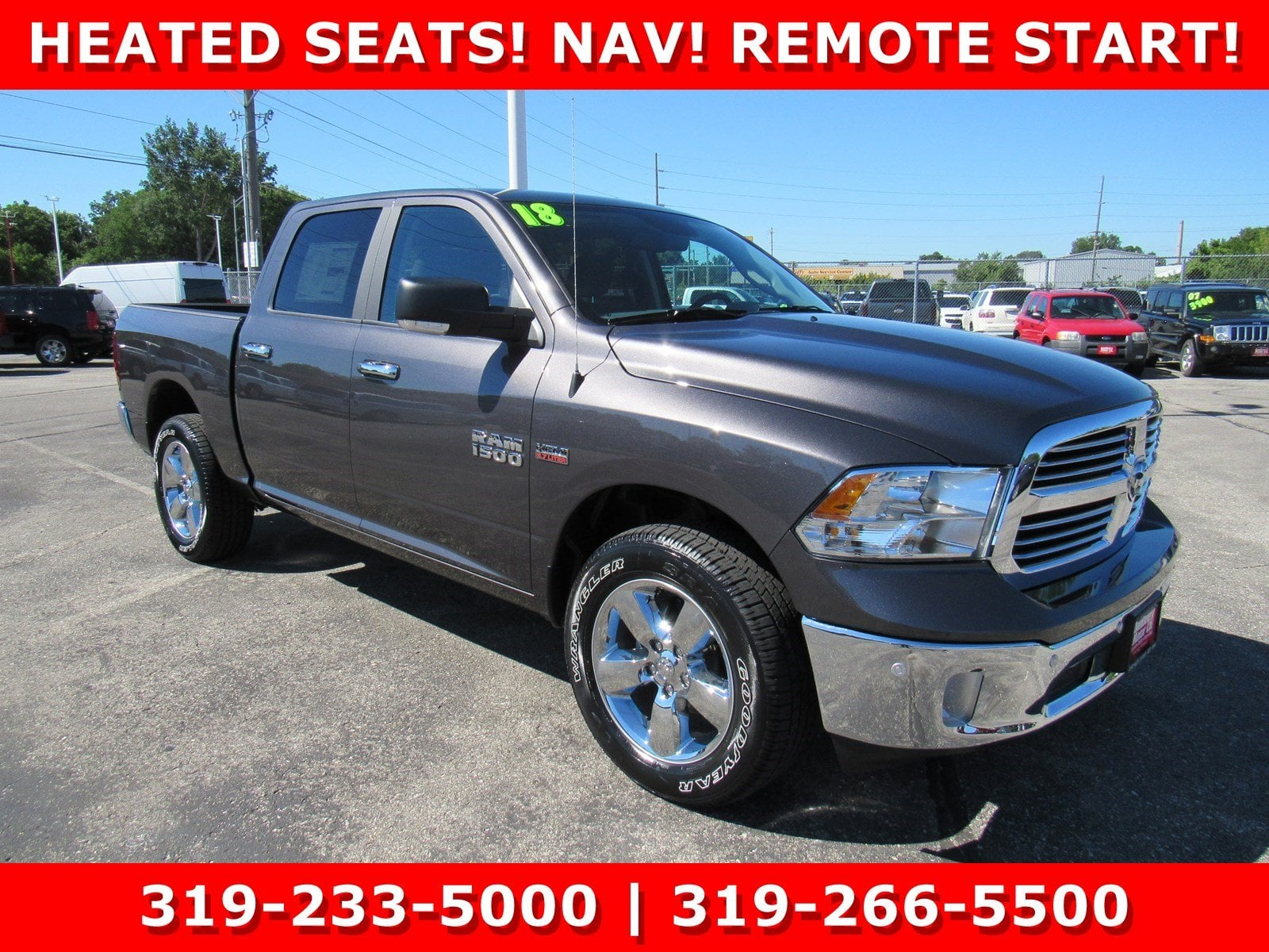 2018 Ram 1500 Crew Cab 4x4,  Pickup #DT21382 - photo 1