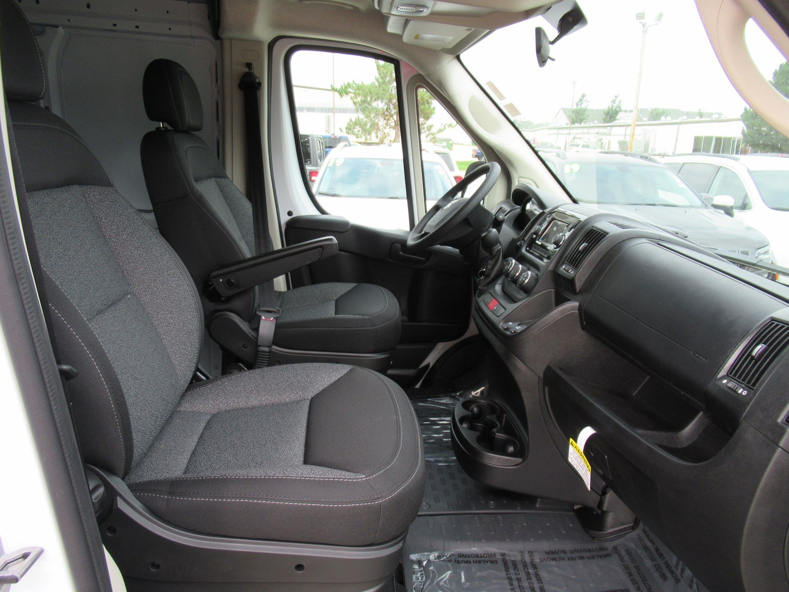 2018 ProMaster 2500 High Roof FWD,  Empty Cargo Van #DT21416 - photo 12