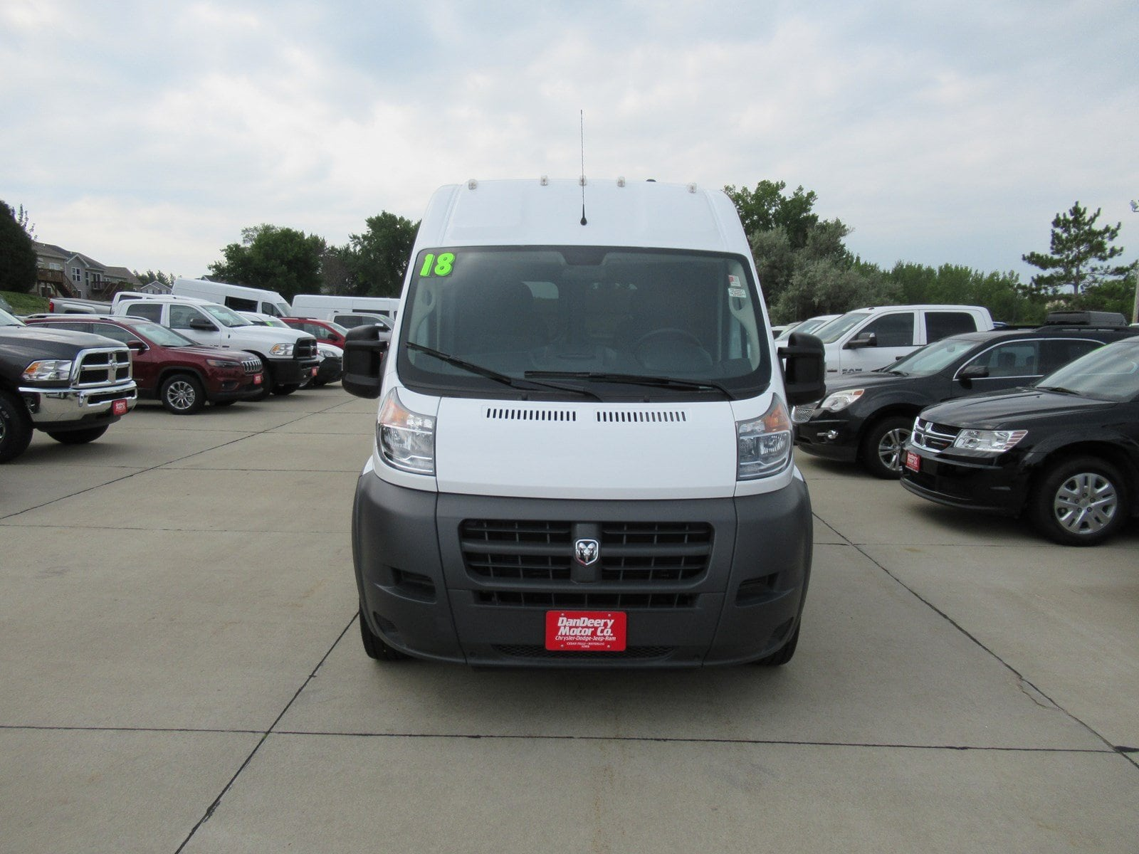 2018 ProMaster 2500 High Roof FWD,  Empty Cargo Van #DT21416 - photo 3