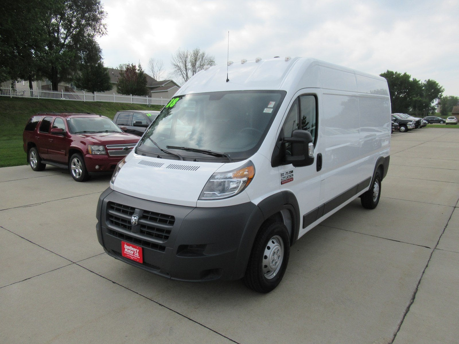2018 ProMaster 2500 High Roof FWD,  Empty Cargo Van #DT21416 - photo 4