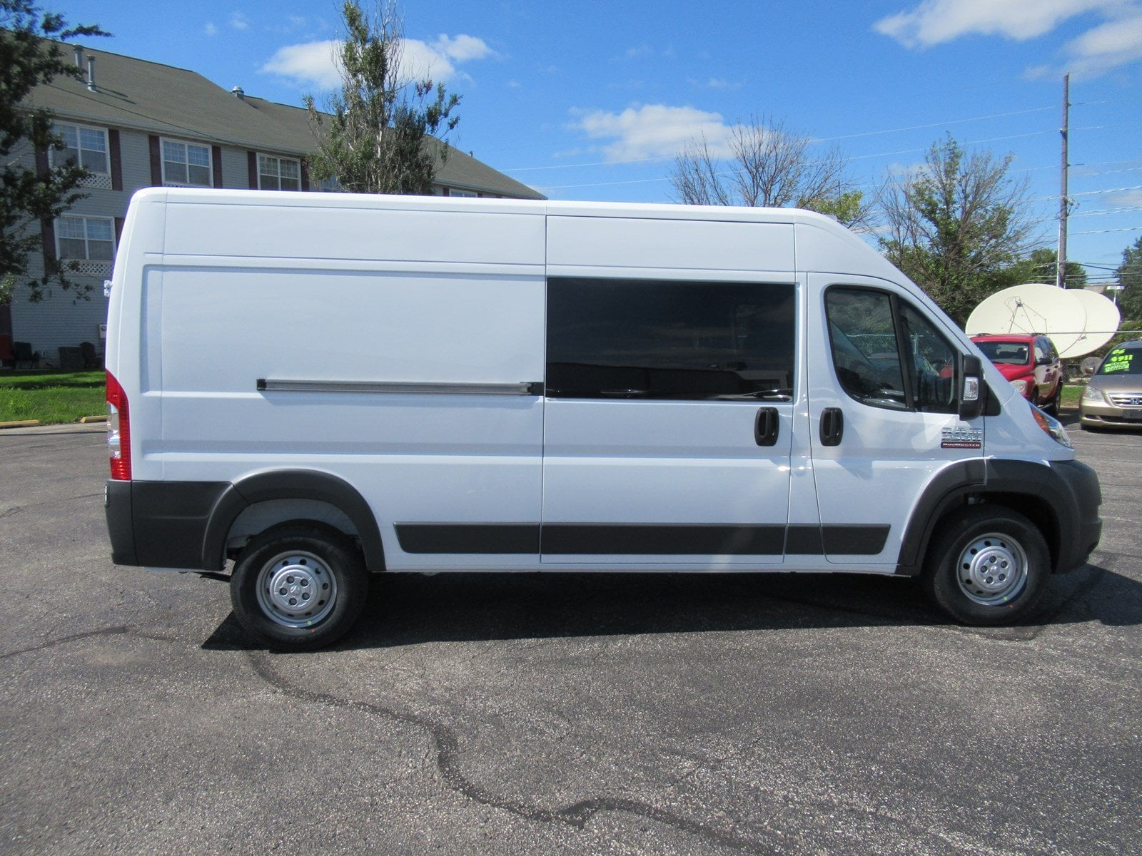2018 ProMaster 2500 High Roof FWD,  Empty Cargo Van #DT21436 - photo 6