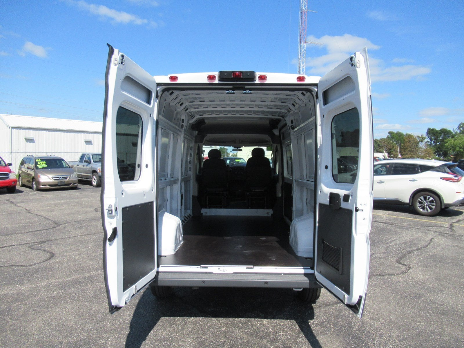 2018 ProMaster 2500 High Roof FWD,  Empty Cargo Van #DT21436 - photo 7