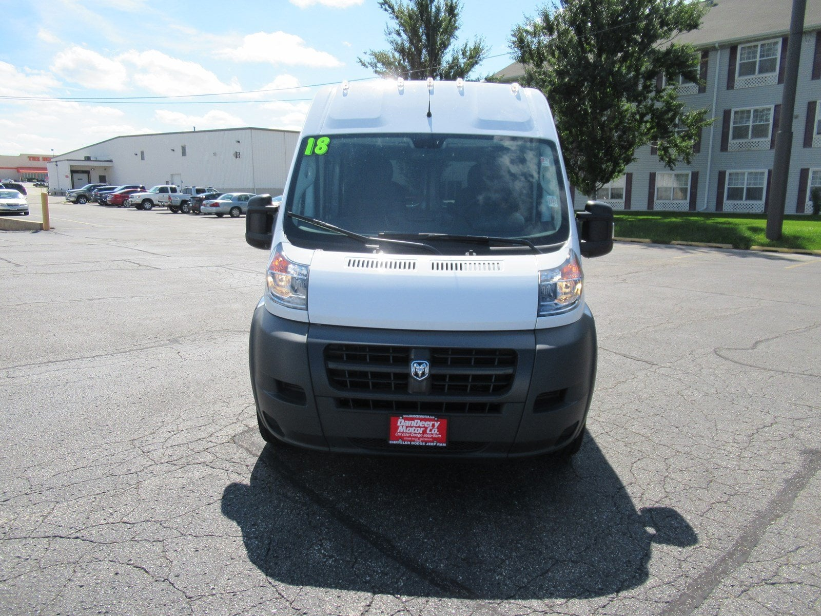 2018 ProMaster 2500 High Roof FWD,  Empty Cargo Van #DT21436 - photo 3