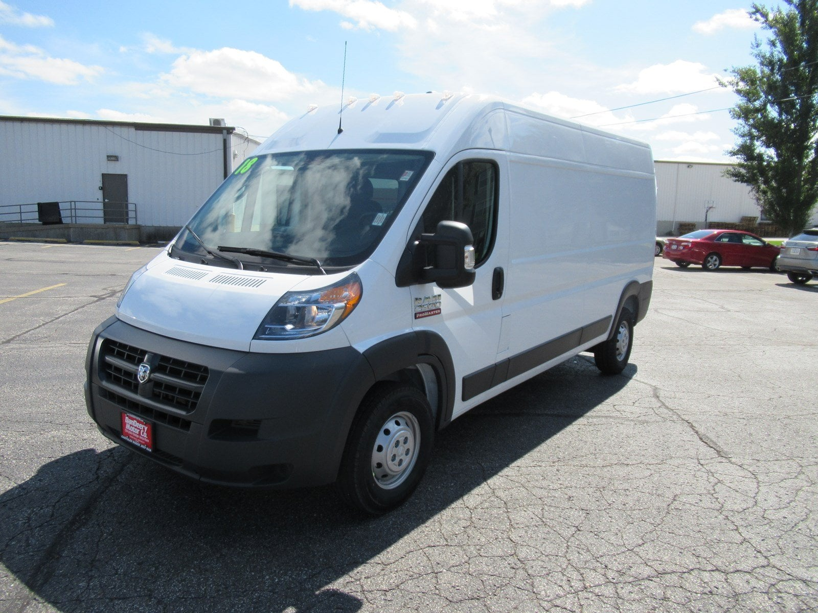 2018 ProMaster 2500 High Roof FWD,  Empty Cargo Van #DT21436 - photo 4